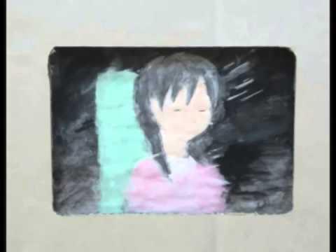 広島市立大州中学校美術部制作「路面電車で つなぐ 私たちの 広島」