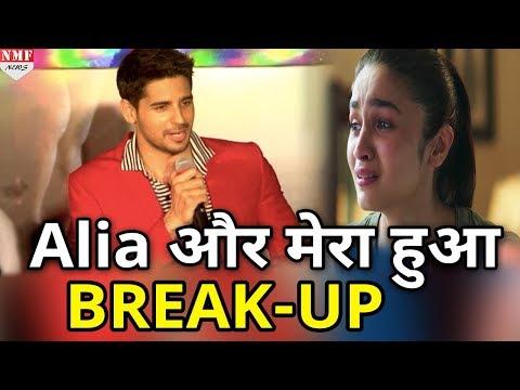 Alia Bhatt और मेरा हुआ BREAK-UP - Siddharth Malhotra | 'Bandook Meri Laila' Song Launch