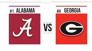 2018 SEC Championship #1 Alabama vs #4 Georgia Full Game Highlights