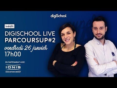 Un guide et des sessions live pour tout comprendre sur Parcoursup, avec le Groupe IONIS et digischool