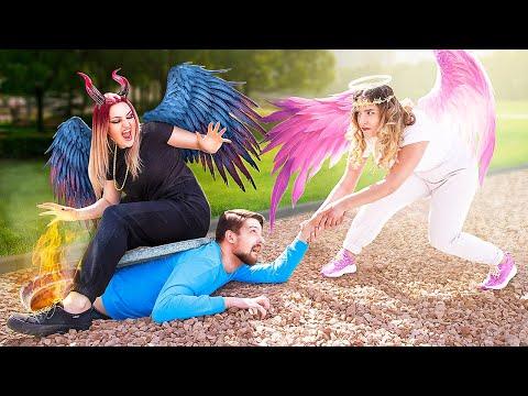 Angel vs Demon / Good and Evil Rule My Life