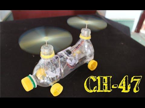 Làm trực thăng từ chai nhựa
