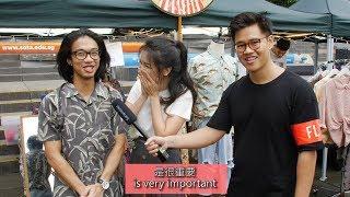 Video Can Singaporean Chinese Speak Chinese? (Prank) MP3, 3GP, MP4, WEBM, AVI, FLV April 2019