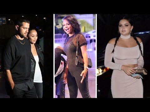 Jesse Metcalfe, Cara Santana, Christina Milian, And Ariel Winter Attending Drake/Future Concert