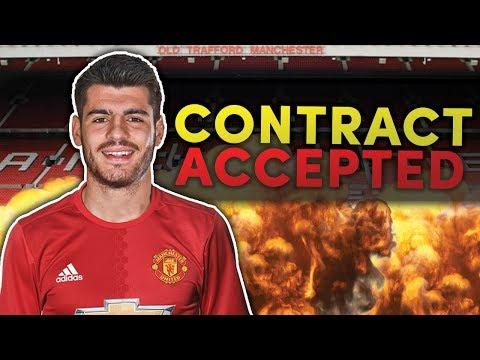 Video: REVEALED: Manchester United To Confirm £80M Alvaro Morata Transfer This Week?!   Transfer Talk