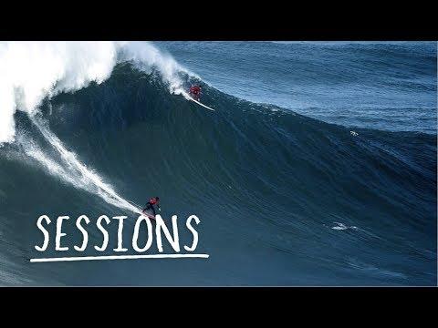 Nämä hurjapäät surfaavat uskomattoman isoja aaltoja – Nazaré XXL