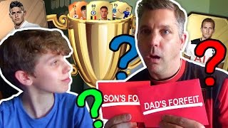 DAD VS SON FIFA 17... THE REMATCH!!--So... after the Dad pack opening, the showcase of my Dad's team & my Dad's club tour..... WE HAVE THE REMATCH! ..and this time it is a forfeit FIFA 17 vs my Dad!!Leave a LIKE if you enjoyed the video and make sure you SUBSCRIBE if you haven't already - thanks for watching!-------------------------------------------------------------------------------------------------▶︎ Twitter - https://twitter.com/Juron24▶︎ Twitch - http://www.twitch.tv/jur0n/profile▶︎ Instagram - https://www.instagram.com/jur0n/