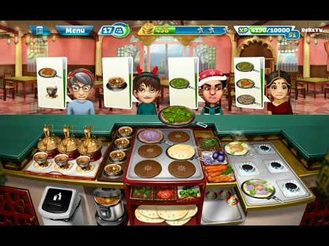 Cooking Fever - Hard Level 38 Indian Diner Restaurant | Best Cooking GamePlay