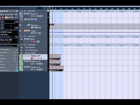 Cubase Batch Audio Export
