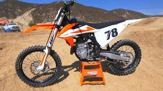 10. First Ride 2019 KTM 450SXF - Motocross Action Magazine