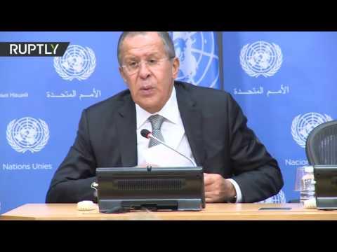 Пресс-конференция Лаврова по итогам работы на Генеральной Ассамблее ООН (видео)