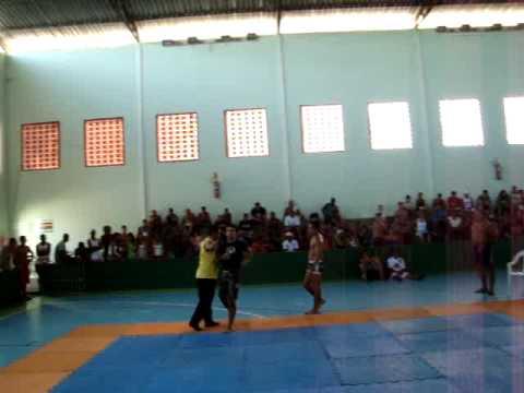 Lucio Flavio submission em São João da Barra luta 2