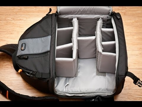 My First YouTube Video - Lowepro SlingShot 302 review