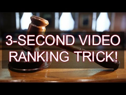 3-Second Video Marketing Trick- Give Your Videos The Extra Push It Needs To Rank!