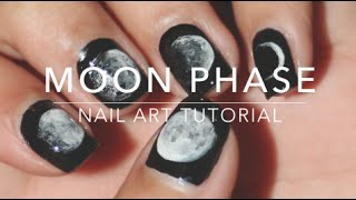 Moon Phase | Nail Art Tutorial - YouTube