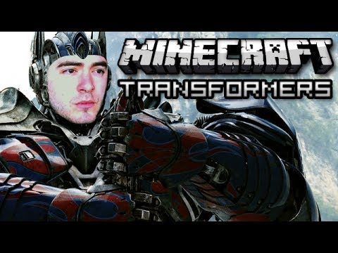 Minecraft: Transformers Build Challenge w/ JonTron and Bajan Canadian