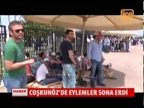 Coşkunöz'de Eylemler Sona Erdi   21 Mayıs 2015