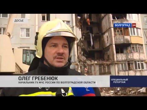 Взрыв газа в многоквартирном доме в Волгограде
