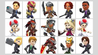 """""""Mii Fighters Suit Up for Wave Four"""""""