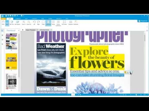 Wondershare PDF Element tutorial