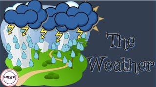 The Weather, Weather vocabulary for kids