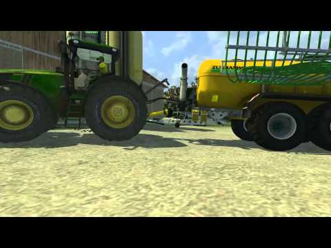 John Deere 7310R v2.1 double wheels