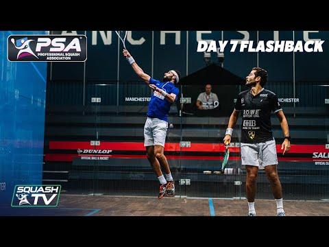 Squash: Manchester Open 2020 Flashback - Day 7
