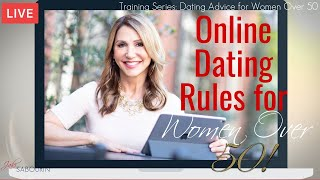 🔴Online Dating Rules for Women Over 50 | Engaged at Any Age | Jaki Sabourin