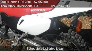 4. 2009 Honda CRF230L Dual sport - for sale in Belle Vernon, PA