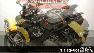 8. 2009 Can-Am Spyder Roadster SM5  - Dream Machines Indian ...