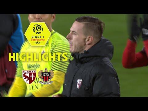 FC Metz - OGC Nice (2-1) - Highlights - (FCM - OGCN) / 2017-18