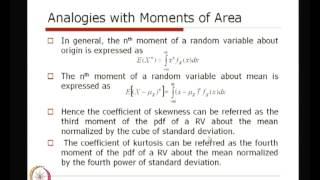 Mod-01 Lec-09 Further Descriptors Of Random Variables