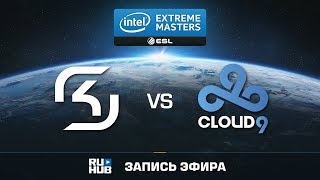SK Gaming vs Cloud9 - IEM Oakland 2017 - de_train [Enkanis, yXo]