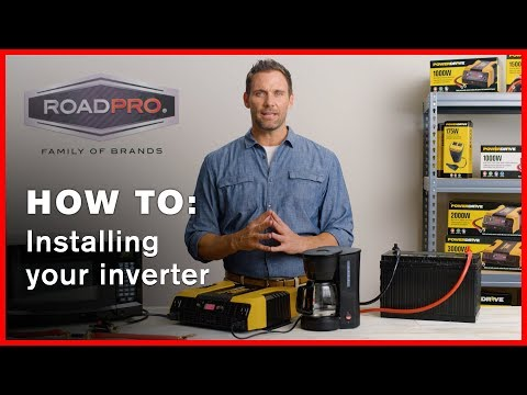 Power Inverter HOW TO #3 - How to install your power inverter