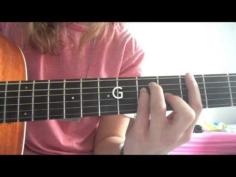 Cody Simpson driftwood guitar tutorial