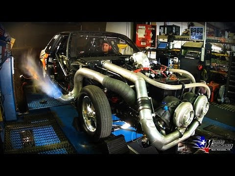 dyno - 2014, Mike Murillo 93 Mustang LX (LAFAWNDUH) gots some new upgrades. Check Em out at for updates @ https://www.facebook.com/MikeMurilloRacing Skull Crusher A...