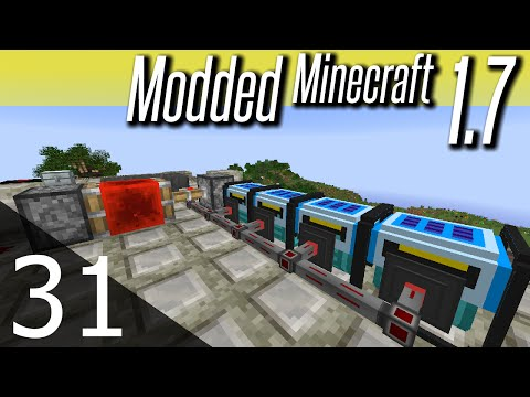 Modded Minecraft 1.7 – ep. 31 – Solar Generators
