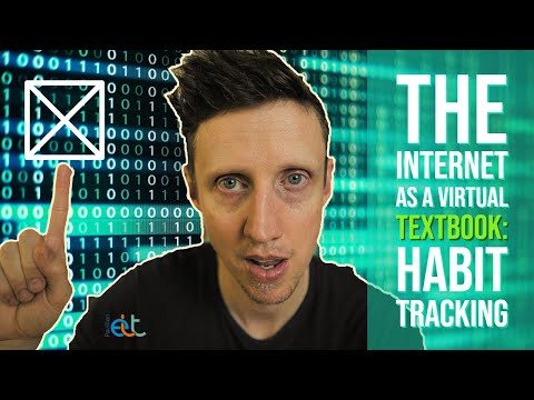 The internet as a virtual textbook: HabitTracking