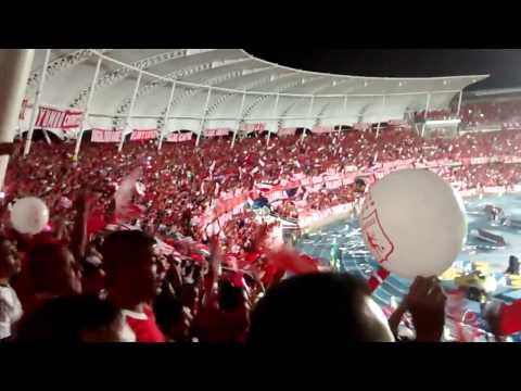 Gol de Borja - 2 América vs R. Cartagena 1 - Dale rojo - Hay que saltar - Baron Rojo Sur - América de Cáli