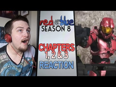 Red vs. Blue Season 8 Chapters 1 - 3 Reaction