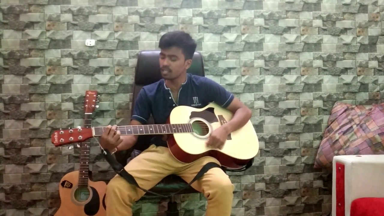 O Mere Dil Ke Chain Guitar Cover   Kishore Kumar   Bollywood Song   Acoustic Guitar   Old Is Gold
