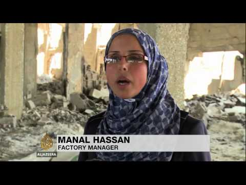 'It's - The seven-week war in Gaza has increased the unemployment rate to more than 50 percent. An estimated 10000 people are out of work after Israel's attacks on 450 factories and businesses in...