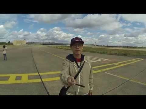 GoPro Selfie: Berlin Tempelhof Airport Runway