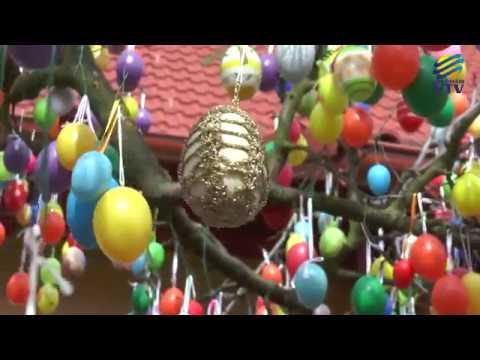 5 ezer tojás ékesíti a nagyatádi fát!