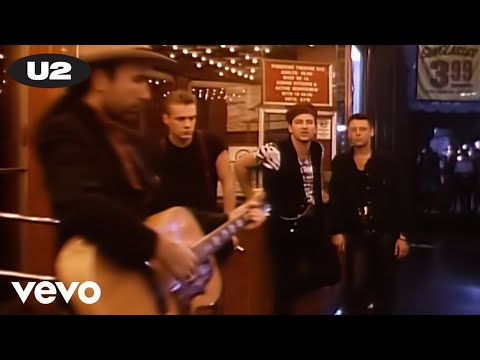 U2 desire 1988 music video for 1988 music charts