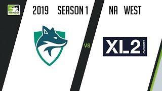Skyfoxes vs XL2 Academy (Part 1) | OWC 2019 Season 1: North America West