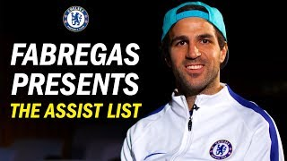 Download Video ''I Didn't Know Alvaro Had That In His Locker'' | Cesc Fabregas Presents The Best Assists Of 2017 MP3 3GP MP4