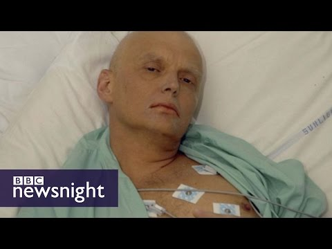 The Alexander Litvinenko assassination - To date the only known case of poisoning by radioactive polonium. BBC Newsnight. (2015)