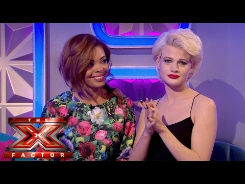 stephanie - Visit the official site: http://itv.com/xfactor Stephanie Nala and Chloe Jasmine's reaction to tonights double elimination. SUBSCRIBE: http://bit.ly/TXFSub Facebook: http://bit.ly/TXFFB...
