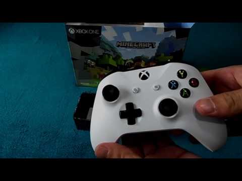 Xbox One Slim: Minecraft Edition - Unboxing By MG